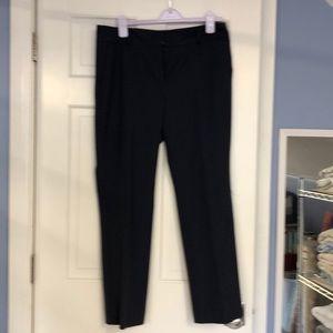 Ann Taylor Navy Ankle Pants